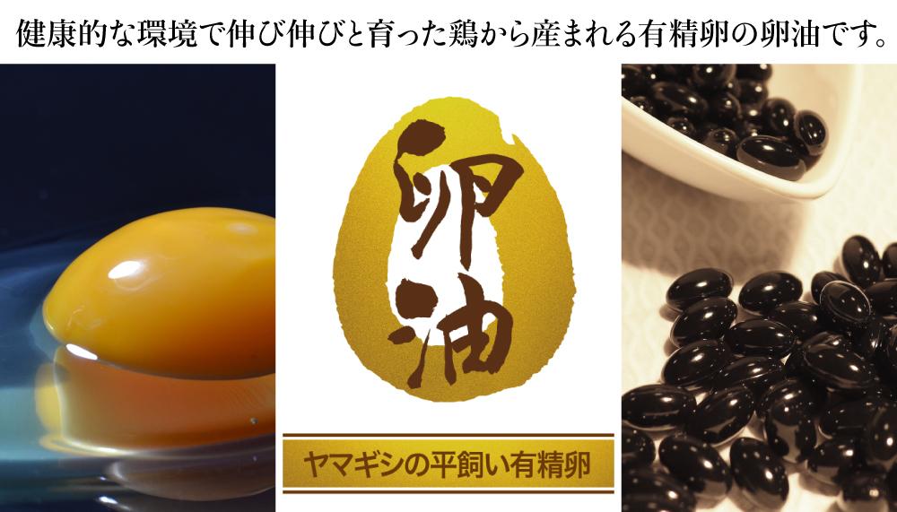ヤマギシの卵油について